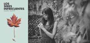 Feria del Libro: Cubierta de Los seres infrecuentes e Isabel Garzo