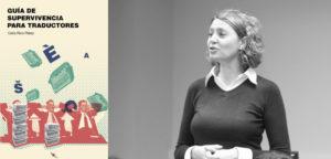 Feria del Libro: Cubierta de la guía y celia Rico Pérez