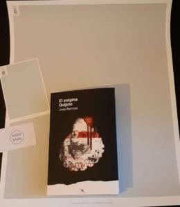 Premio del sorteo El Enigma Quijote